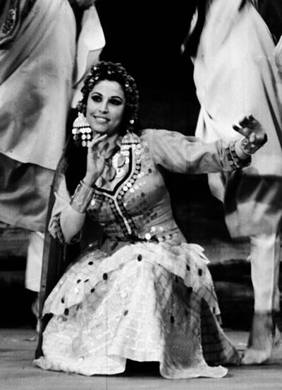 Farida Fahmy and Mahmoud Reda : египет танца